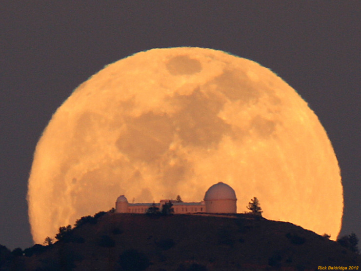 Full Moon, Lick Observatory